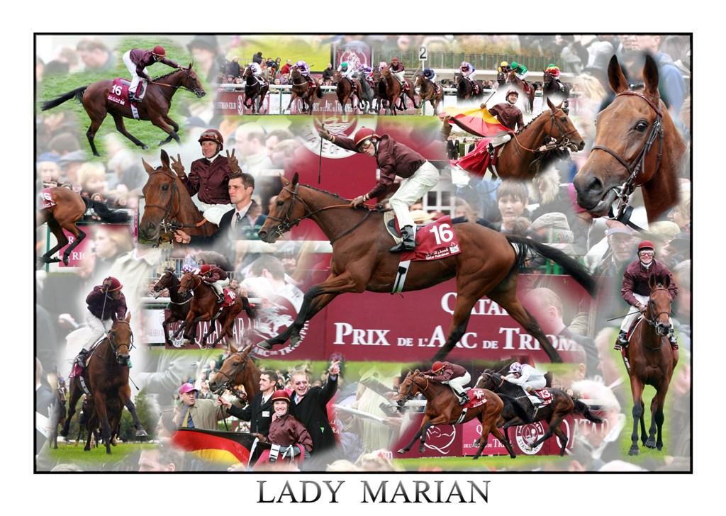 Collage Lady Marian Prix de l'Opera
